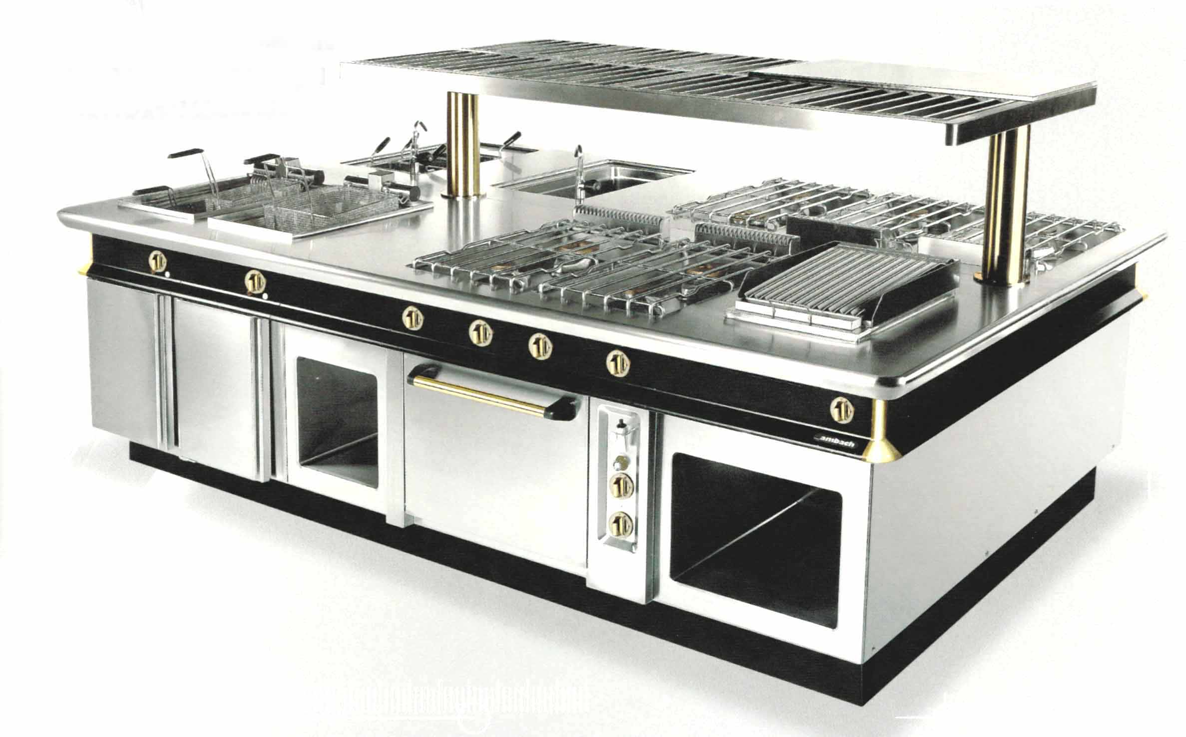 Arredamento ristoranti milano cucine professionali milano - Cucine industriali usate ...