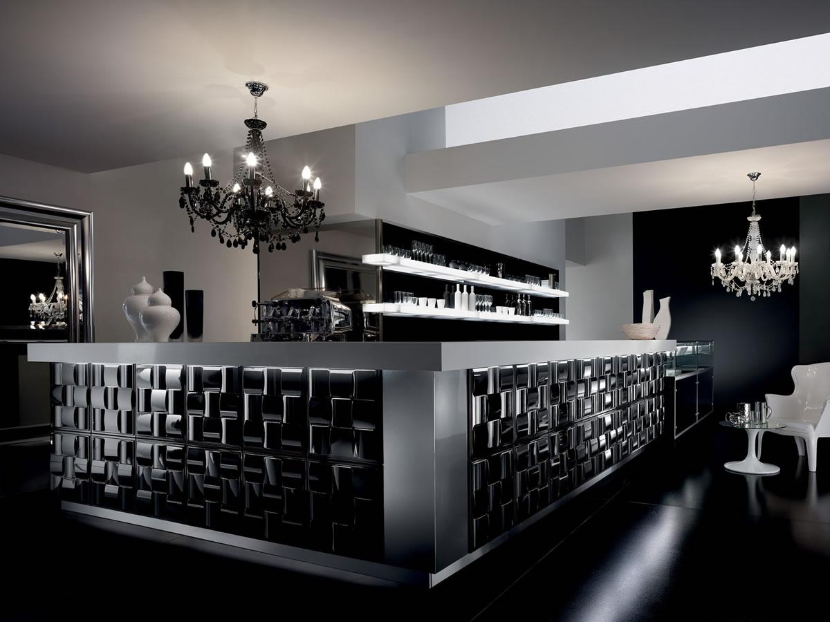Arredamento ristoranti milano progettazione ristorante for Banconi bar milano